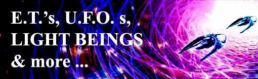 E.T.'s, U.F.O.'s and more